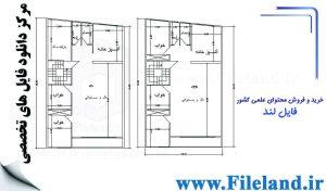 پلان مسکونی 16.30*10.1– کد پلان: 66
