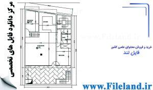 پلان مسکونی 19.20*12.10– کد پلان: 43