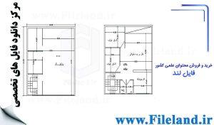 پلان مسکونی 10*10– کد پلان: 67