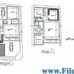پلان مسکونی 20.00*9.75 – کد پلان: 52