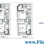پلان مسکونی 29.20 *10.53 – کد پلان: 53
