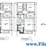 پلان مسکونی 22.20 *9.00– کد پلان: 54