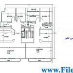 پلان مسکونی 19.70*13.20 – کد پلان: 55