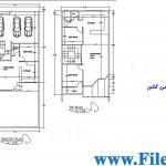 پلان مسکونی 19.70*8.20 – کد پلان: 56