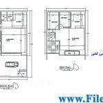 پلان مسکونی 17.00*10.00– کد پلان: 60