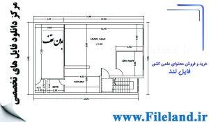 پلان معماری 9.65*13.5– کد پلان: 37