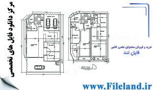 پلان معماری 19.00*11.20– کد پلان: 38
