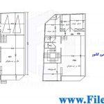 پلان مسکونی 24.03*9.48 – کد پلان: 62