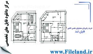 پلان مسکونی 12.10*11.90 – کد پلان: 41