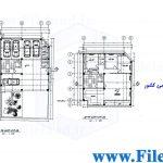 پلان مسکونی 20.20*12.50– کد پلان: 109