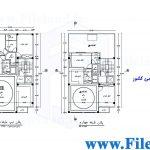 پلان مسکونی 25.00*10.00– کد پلان: 110