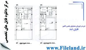 پلان مسکونی 20.00*10.00– کد پلان: 112