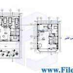 پلان مسکونی 20.00*10.00– کد پلان: 119