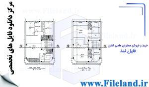 پلان مسکونی 20.00*10.00– کد پلان: 120