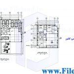 پلان مسکونی 20.05*10.99– کد پلان: 121