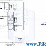 پلان مسکونی 20.50*9.75– کد پلان:171