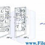 پلان مسکونی 29.25*9.45– کد پلان:185