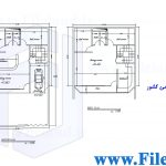 پلان مسکونی 17.31*10.59– کد پلان:198